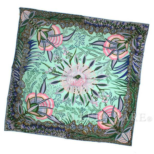 Queens Flowers of South Africa HERMES silk scarf autumn of 2017 winter of  Hermes scarf boyfriend 90 silk twill South Africa 83cb3961bb9