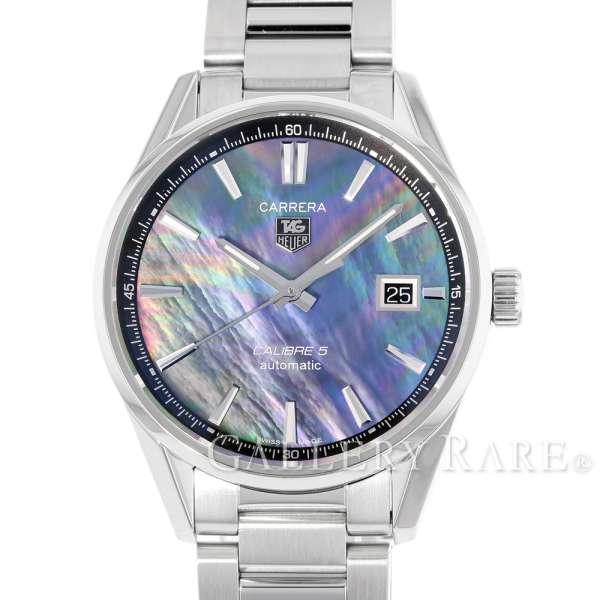 タグホイヤー カレラ キャリバー5 シェル文字盤 WAR211F.BA0782 TAGHEUER 腕時計【安心保証】【中古】