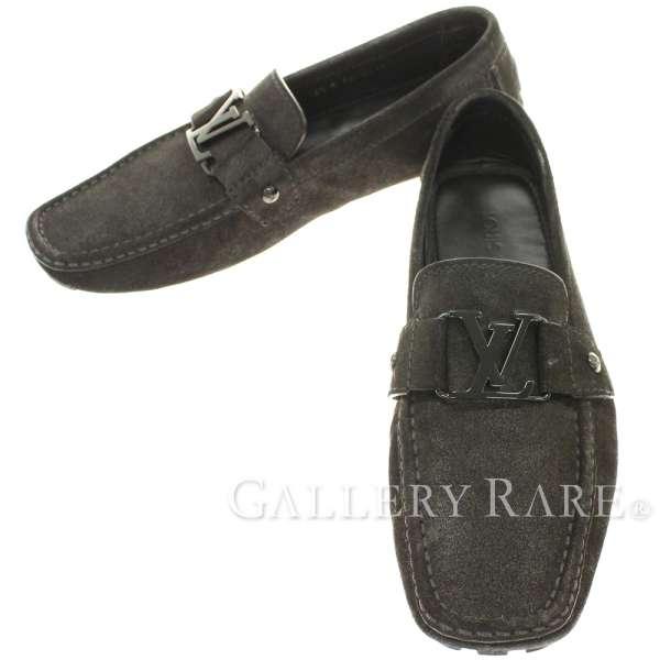 ルイヴィトン シューズ モンテカルロ・ライン カーシュー ドライビングシューズ LV メンズサイズ6 1/2 LOUIS VUITTON 靴 モカシン ローファー ヴィトン メンズ