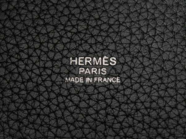 5f35b541728 ... official store hermes handbag pico tongue lock pm black x silver metal  fittings avian yong clements ...
