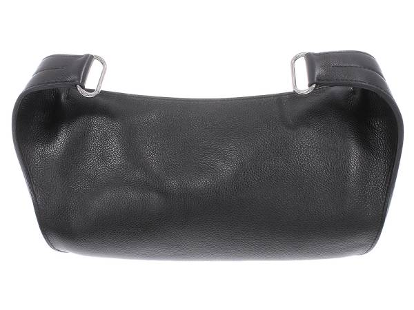 gallery rare hermes chiquita evergrain black waist bag pouch o france authentic 4886747. Black Bedroom Furniture Sets. Home Design Ideas