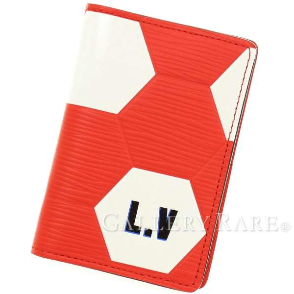 ルイヴィトン カードケース エピ オーガナイザー・ドゥ ポッシュ M63226 2018 FIFA ワールドカップ LOUIS VUITTON ヴィトン パスケース 名刺入れ サッカーボール
