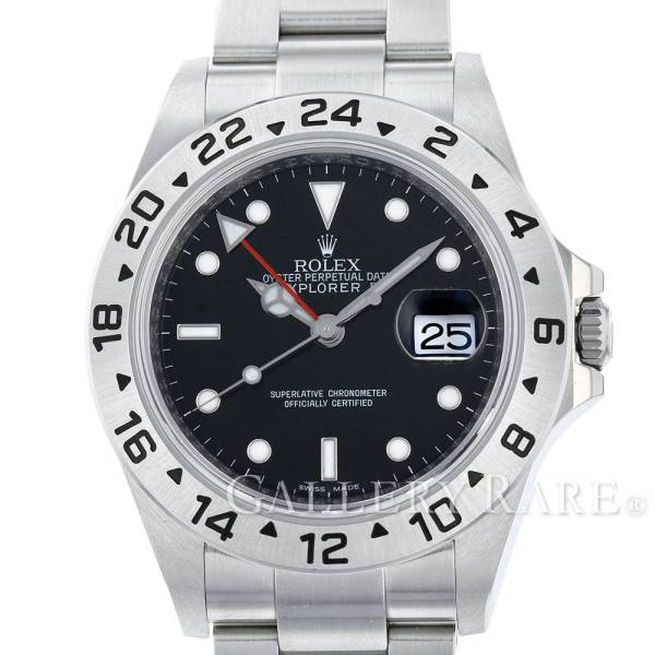【楽ギフ_のし宛書】 ロレックス エクスプローラー2 ランダムシリアル ルーレット ROLEX 16570 16570 腕時計 ROLEX 腕時計, U-MAX:4aac176b --- canoncity.azurewebsites.net