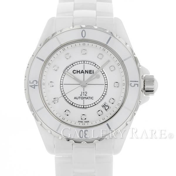 シャネル J12 38mm ホワイトセラミック 12Pダイヤ H1629 CHANEL 腕時計 ウォッチ