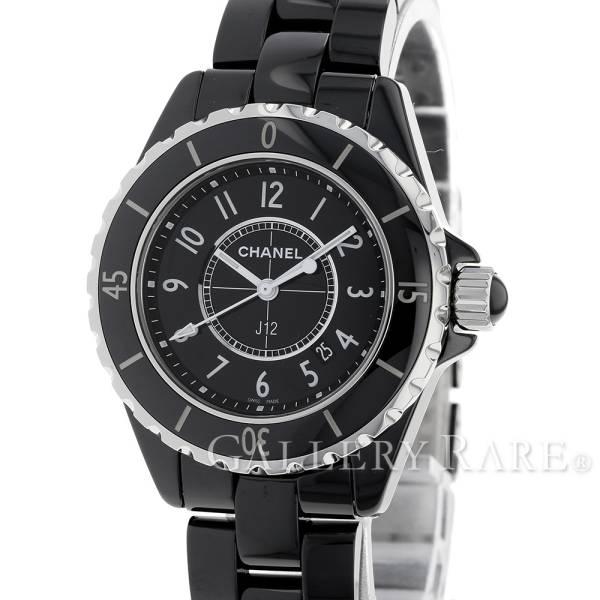 シャネル J12 33mm ブラックセラミック H0682 CHANEL 腕時計 レディース クォーツ ウォッチ