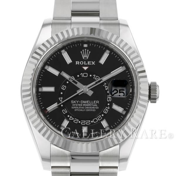 ロレックス スカイドゥエラー ランダムシリアル ルーレット 326934 ROLEX 腕時計 ウォッチ Sky Dweller【安心保証】【中古】