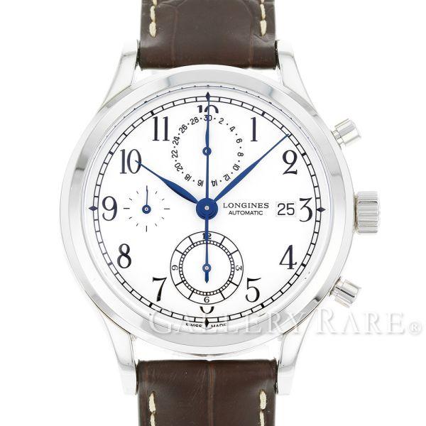 ロンジン ヘリテージ クラシック クロノグラフ L2.815.4.23.2 LONGINES 腕時計 ウォッチ【安心保証】【中古】