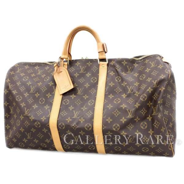 d3eb0cb1e08d5 LOUIS VUITTON Keepall 55 Monogram M41424 France Travel Bag Authentic  4959915 ...