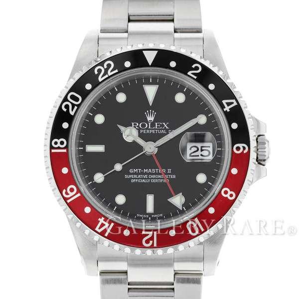 ロレックス GMTマスター2 デイト 赤黒ベゼル Y番 16710 ROLEX 腕時計 ウォッチ【安心保証】【中古】