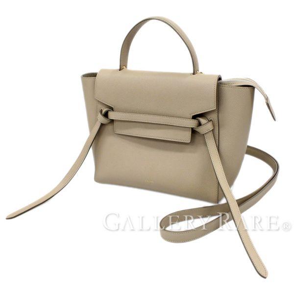 セリーヌ ハンドバッグ ベルトバッグ マイクロ 1801532VA CELINE バッグ 2wayショルダーバッグ【安心保証】【中古】