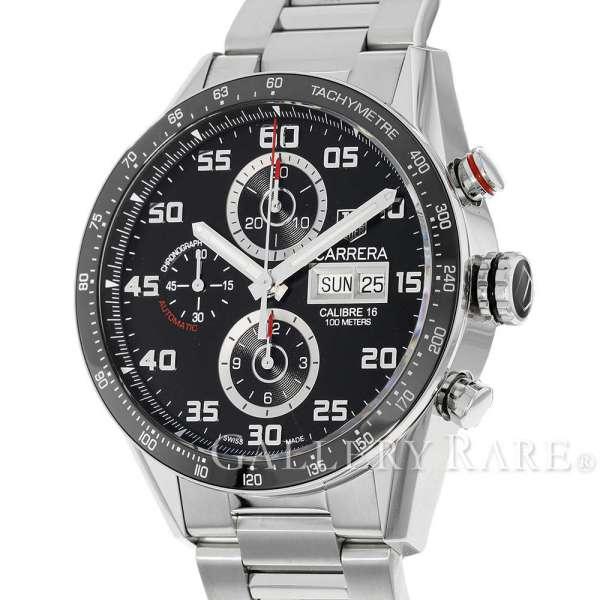 タグホイヤー カレラ キャリバー16 デイデイト クロノグラフ CV2A1R.BA0799 TAGHEUER 腕時計【安心保証】【中古】