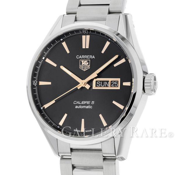 タグホイヤー カレラ キャリバー5 デイデイト WAR201C.BA0723 TAGHEUER 腕時計【安心保証】【中古】