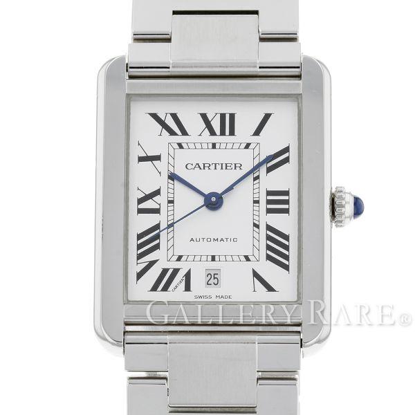 カルティエ タンク ソロ XL W5200028 Cartier 腕時計 ウォッチ TANK SOLO ブレス【安心保証】【中古】