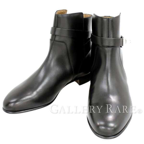 エルメス ショートブーツ ネオ レディースサイズ 36 1/2 HERMES NEO 靴 ブラック ブーツ
