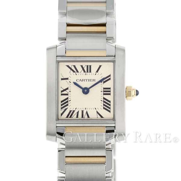 カルティエ タンク フランセーズ SM K18YGイエローゴールド W51007Q4 Cartier 腕時計 レディース タンクフランセーズ【安心保証】【中古】