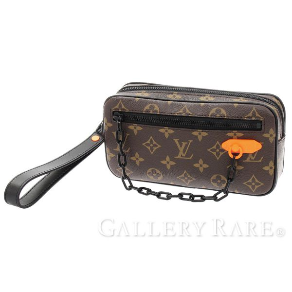 0261982480 Louis Vuitton second bag monogram solar lei Solar Ray pochette Volga M44458  LOUIS VUITTON Vuitton bag clutch bag men