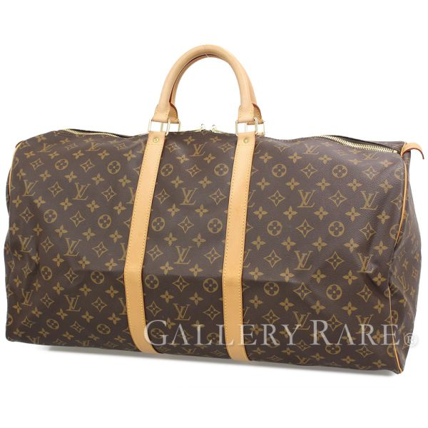 LOUIS VUITTON Keepall 55 Boston Bag M41424 Monogram France Authentic 5066179 e2474ceb2f735
