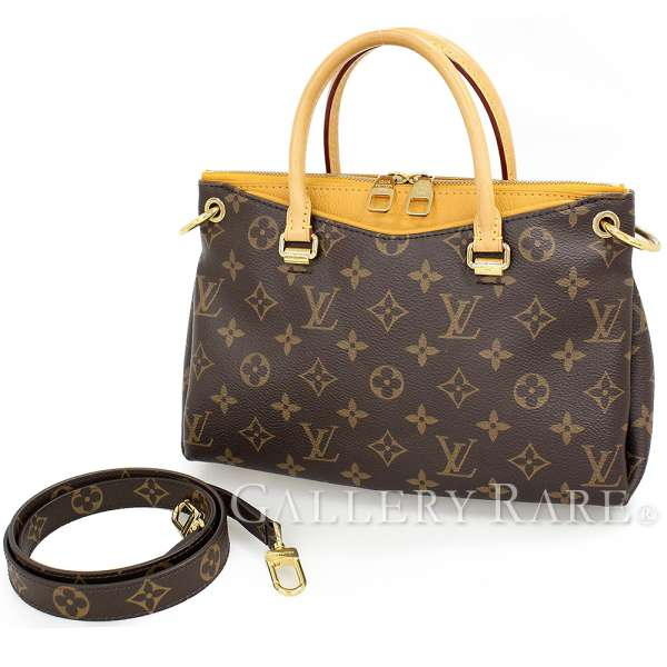 05dd42879072 LOUIS VUITTON Pallas BB Monogram Canvas Safran M41243 Handbag Authentic  4534846