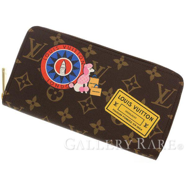 7c226b47cbfdf LOUIS VUITTON Zippy Wallet Monogram Canvas M42616 Sticker Authentic 5088362