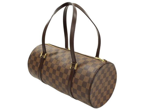 e6a7df41f993 LOUIS VUITTON Papillon 30 Damier Ebene Handbag N51303 France Authentic  5144631