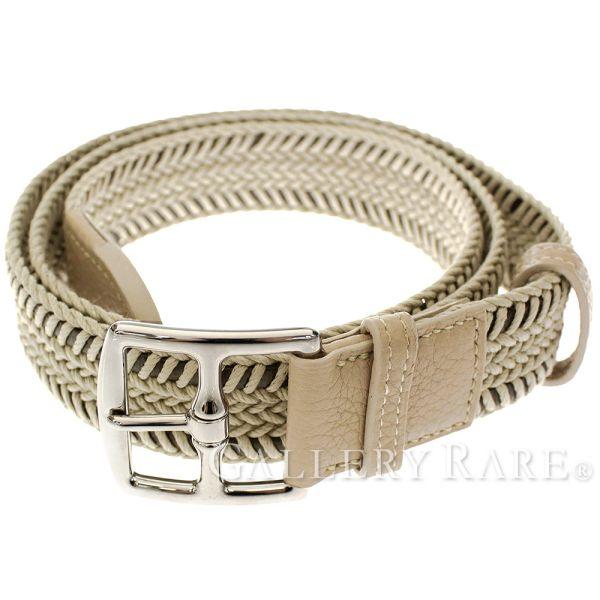 Belt 90cm CEINTURE MIXTE CASUAL トゥルティエールグレートリヨンクレマンス P carved seal HERMES  which includes Hermes belt mesh belt knitting 21f39f4f613