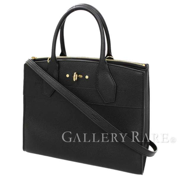 b0a780555084 LOUIS VUITTON City Steamer MM M53015 2way Shoulder Bag Italy Authentic  5148172