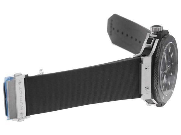【超目玉】ウブロ ビッグバン エボリューション クロノグラフ 黒文字盤 301.SM.1770.RX HUBLOT 腕時計