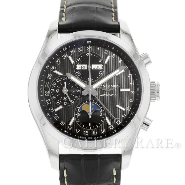 ロンジン コンクエスト クラシック クロノグラフ ムーンフェイズ L2.798.4.52.3 LONGINES 腕時計 ウォッチ