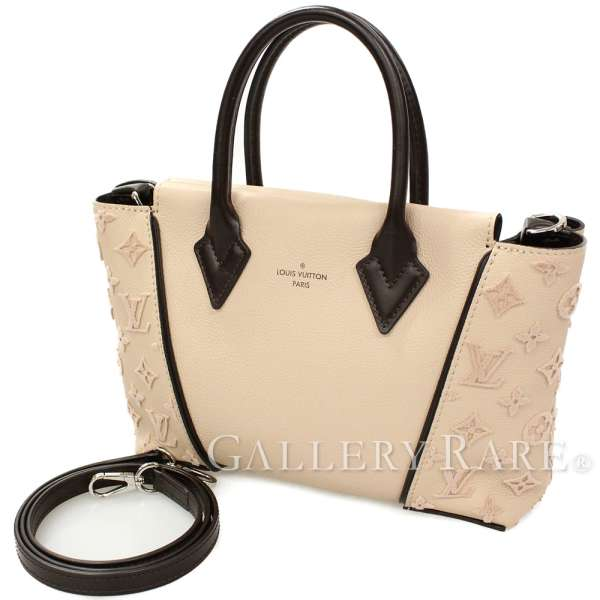 5629a12ca527 LOUIS VUITTON Tote W BB Veau Cashmere Petale M94711 France Authentic 5168149