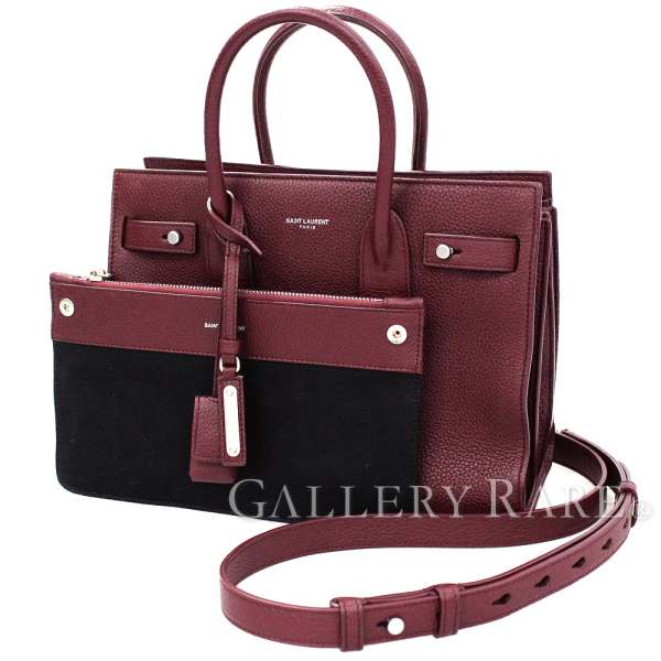 Leather Jour Sac Gallery Wine Red Laurent Paris RareSaint Baby De dWrQxBCoe