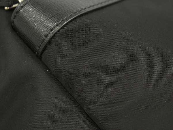 0265b0478e53 FENDI Monster BAG BUGS Nylon Leather Black 7VZ012 Backpack Authentic 5196135