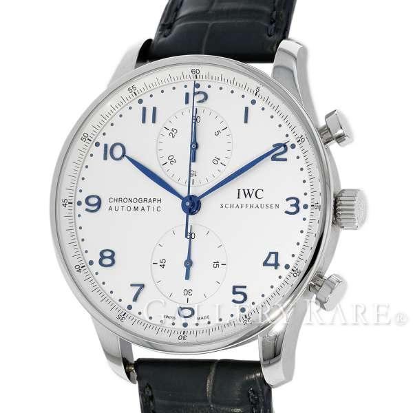 【新生活】IWC ポルトギーゼ クロノグラフ IW371446 腕時計 アイダブリューシー ウォッチ【安心保証】【中古】