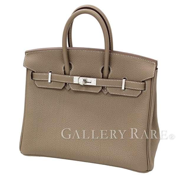 202554ef3b Hermes Birkin 25cm ハンドバッグエトゥープ X silver metal fittings トゴ C carved seal  HERMES Birkin bag