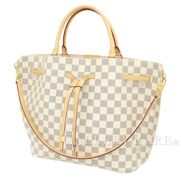 4a53baf7132d LOUIS VUITTON Girolata Damier Azur N41579 Tote Bag 2way Spain Authentic  5218899