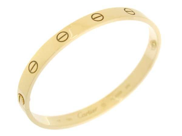 f8bcf7e57a0 Cartier Love Bracelet 18K Yellow Gold  17 Old Type Bangle B6035517 5212200
