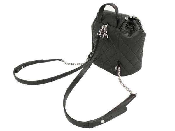 Chanel rucksack backpack matelasse here mark studs A57156 CHANEL rucksack  chain bag 772612b2d52df