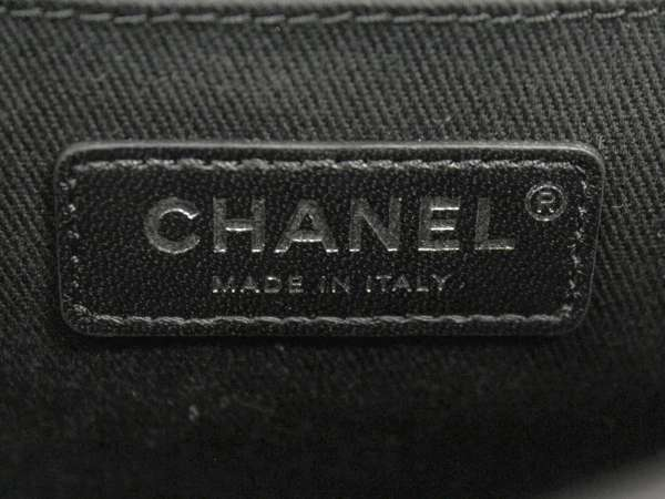 593f7929160a ... CHANEL Matelasse Backpack Lambskin Black A57156 CC Logo Italy Authentic  5253647 ...