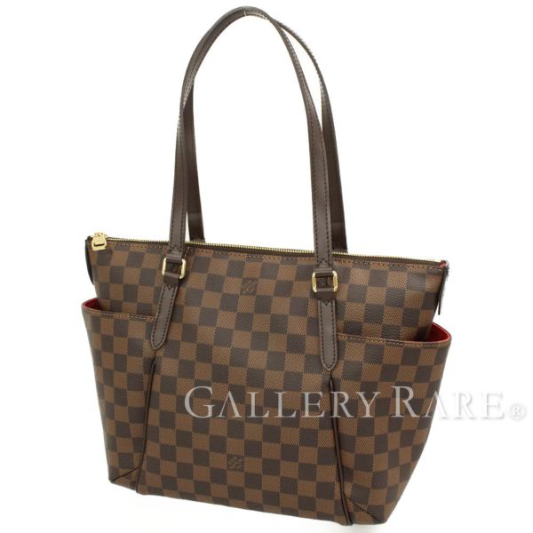 2d3315ac9c80 LOUIS VUITTON Totally PM Damier Ebene Tote Bag N41282 France Authentic  5258239
