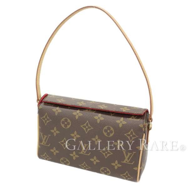 f577523da35a LOUIS VUITTON Recital Monogram Canvas Handbag M51900 France Authentic  5291083
