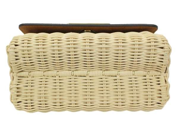 cc7974441ca6 LOUIS VUITTON Twist PM Monogram Rattan M44296 Shoulder Bag Authentic 5314706