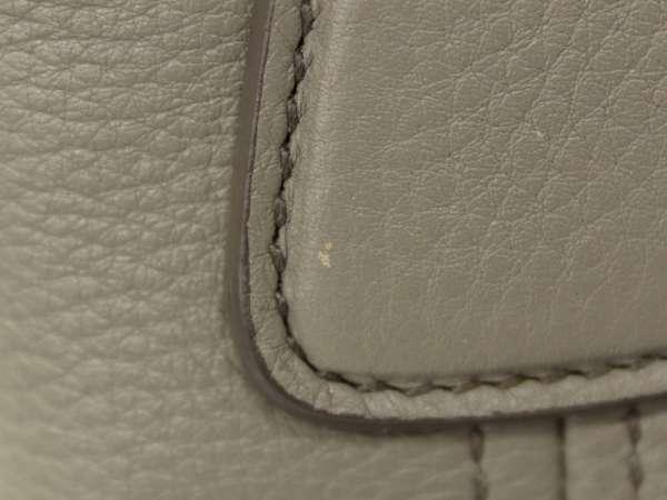 f46d153b82ae PRADA Handbag Vitello Daino Calf Leather Gray BN2534 2Way Bag Authentic  5322459