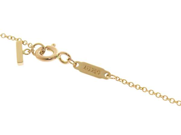 ee2d1b66d ... Tiffany & Co. T Smile Pendant Mini 18K Pink Gold Jewelry Necklace  5318445 ...