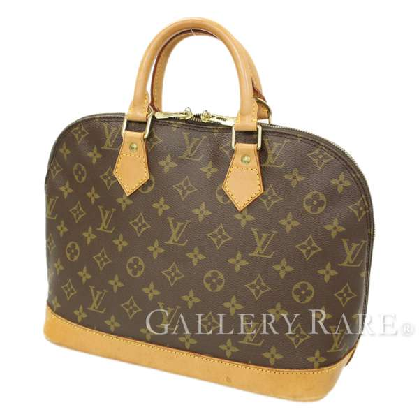 abd5ffba87aa LOUIS VUITTON Alma Monogram Canvas M51130 Handbag France Authentic 5334452
