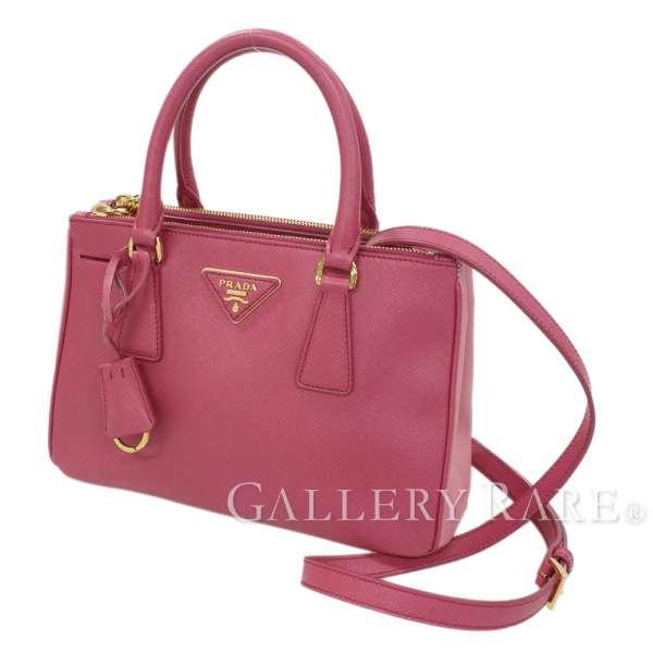 83e9adc5d9e0 PRADA Tote Bag Saffiano Lux Light Pink B2316Q 2Way Italy Authentic 5346493