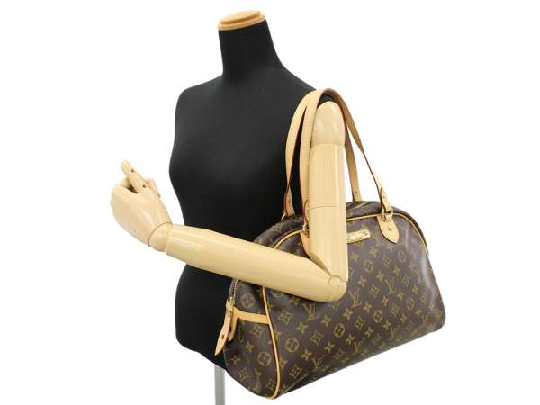 07c51eb951f7 LOUIS VUITTON Montorgueil GM Monogram Shoulder Bag M95566 Authentic 5348244