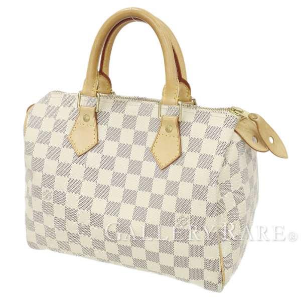 c9677be2f14d LOUIS VUITTON Speedy 25 Damier Azur N41534 Handbag France Authentic 5348190