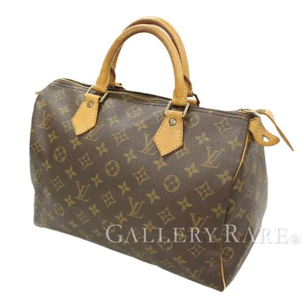 b033e31cf0b2 LOUIS VUITTON Speedy 30 Monogram Canvas M41526 Handbag France Authentic  5354900