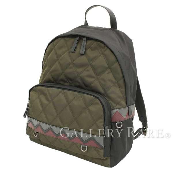 fc6146402ff49c PRADA Backpack Nylon Leather Moss Green Black 2VZ066 Italy Authentic  5362745 ...