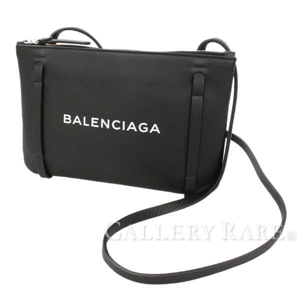 competitive price bfade afff1 バッグ【中古】 BALENCIAGA 500979 レザー 黒 ポシェット ...