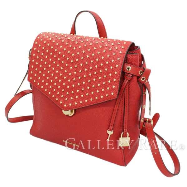 386b9a12571c Michael Kors backpack Bristol studs red leather 30H7GZKB2I MICHAEL KORS  rucksack rucksack bag ...